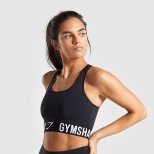 🆕 Gymshark Fit Black Medium Support Sports Bra